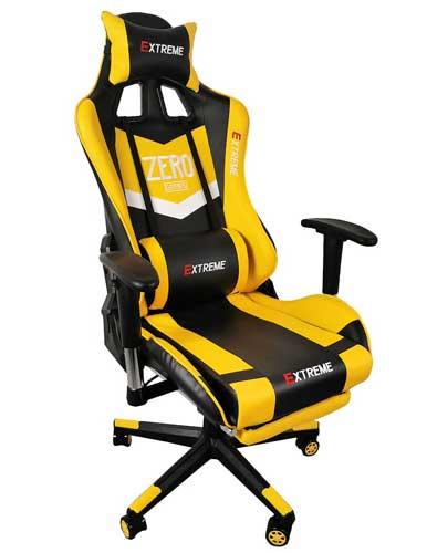صندلی گیمینگ سری Extreme Zero Yellow