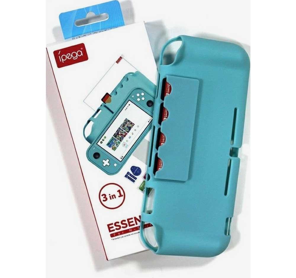 خرید پک نینتندو سوییچ Ipega 3 In 1 Essential Kit آبی