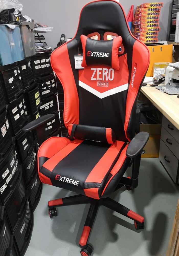 صندلی گیمینگ سری Extreme Zero Red