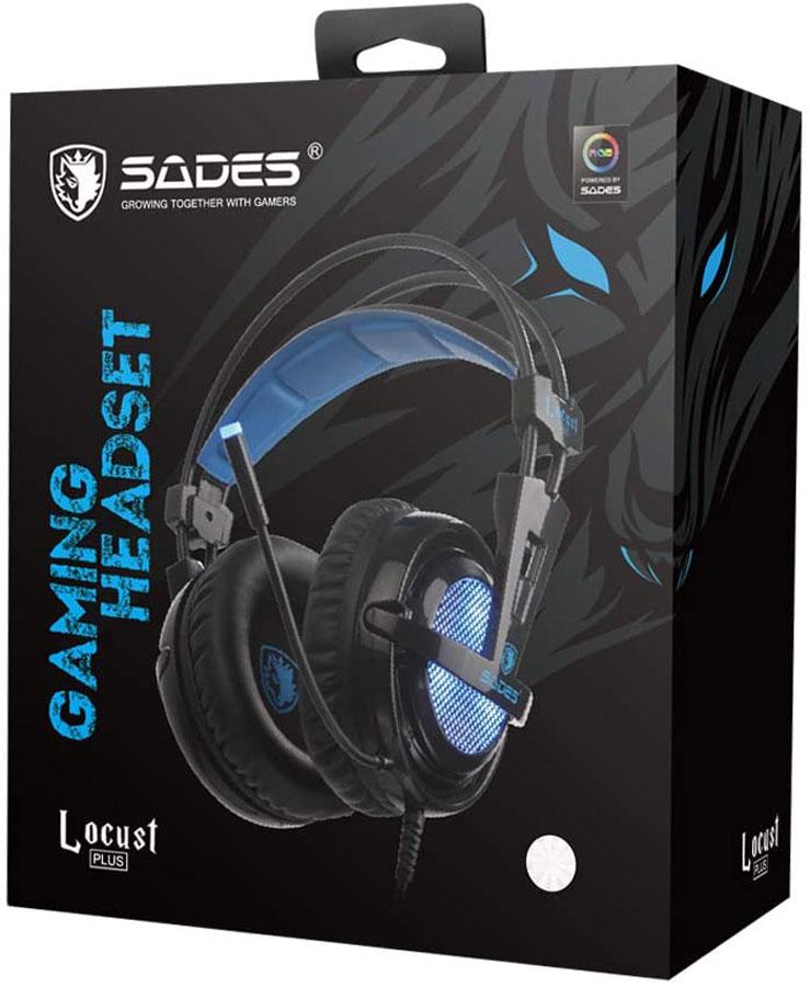 هدست گیمینگ SADES مدل Locust Plus SA-904