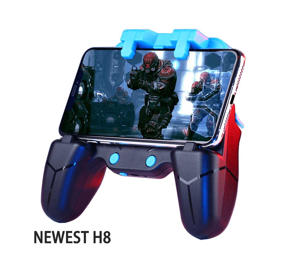 خرید دسته بازی pubg مدل H8 برای گوشی موبایل iPhone و Android
