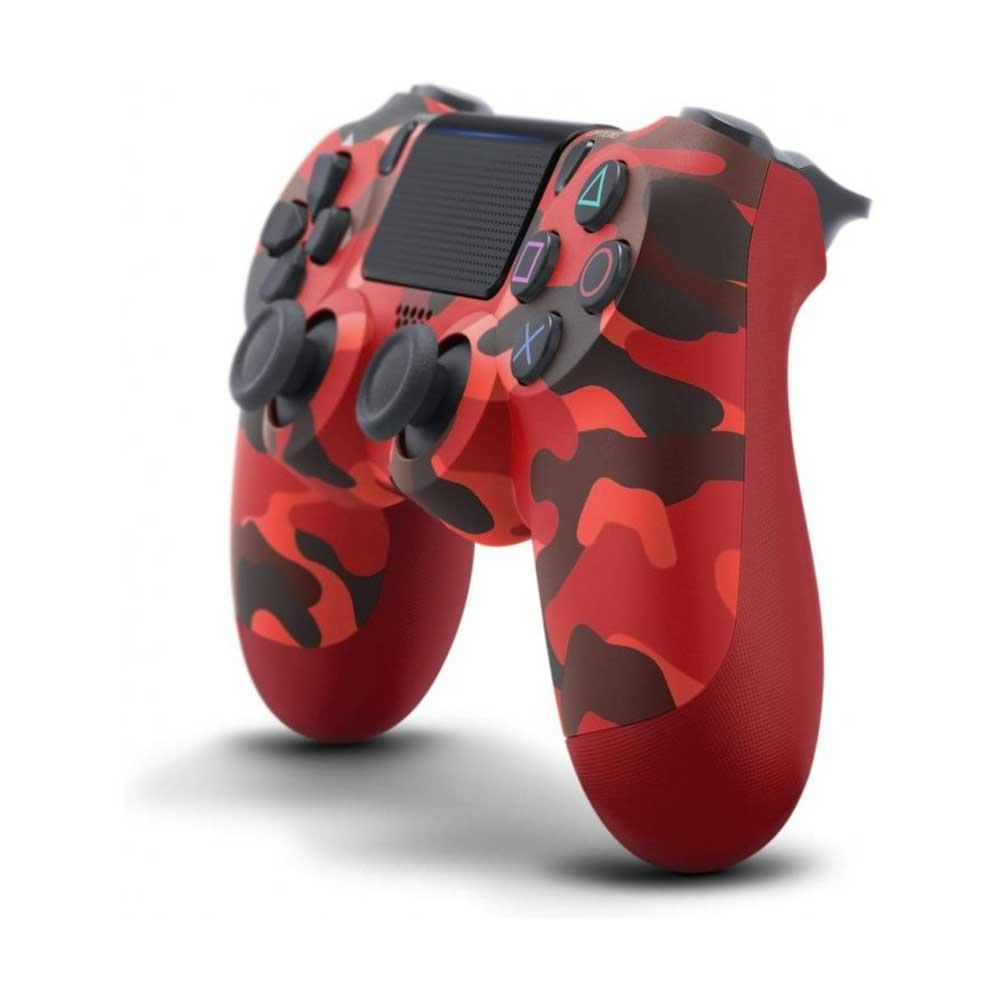 دسته بازی DualShock PS4 طرح قرمز ارتشی جدید