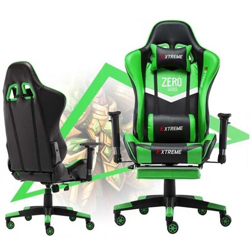 صندلی گیمینگ سری Extreme Zero Green