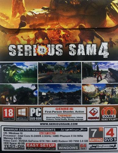 بازی SERIOUS SAM 4 مخصوص کامپیوتر