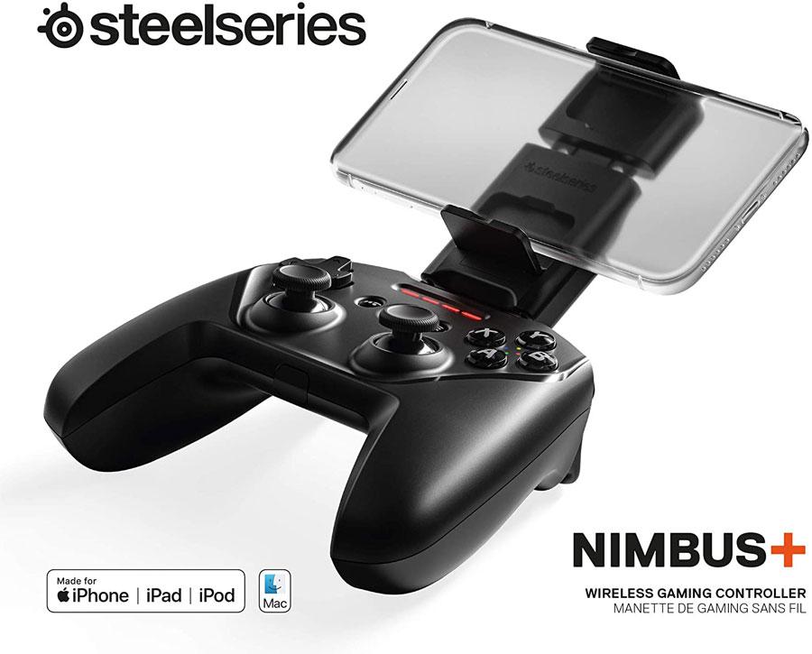 دسته بازی بیسیم Mac و ios مدل + Steelseries NIMBUS