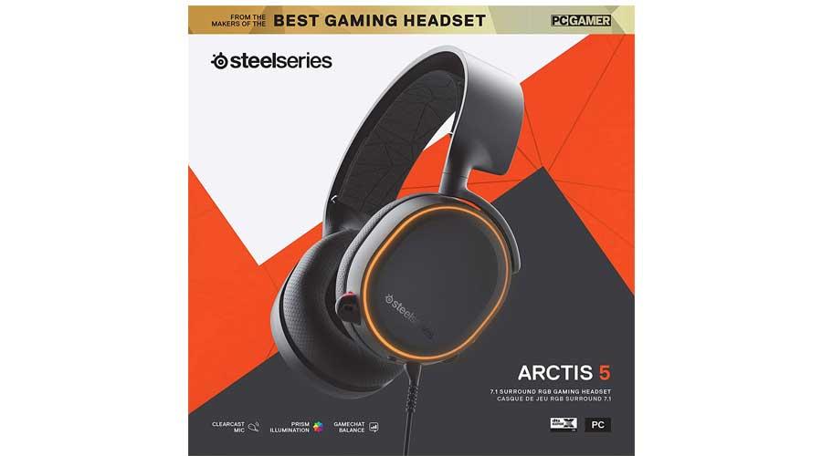 هدست گیمینگ مدل SteelSeries Arctis 5