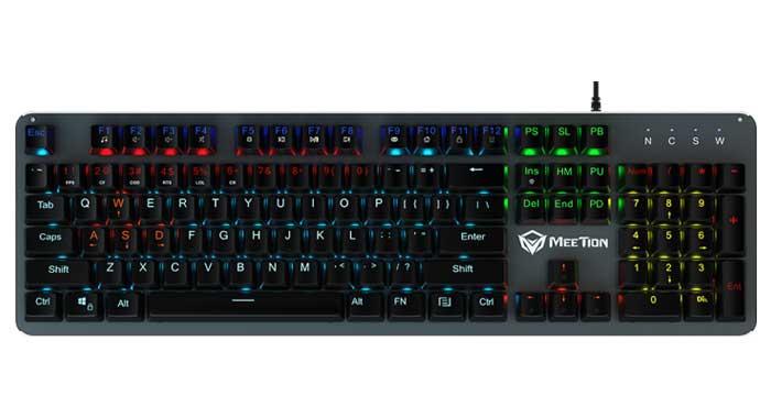 کیبورد گیمینگ میشن Meetion مدل MK007