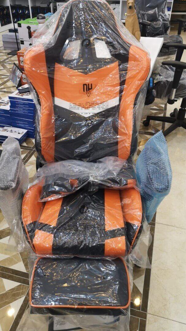 صندلی گیمینگ Extreme مدل Novartis Orange