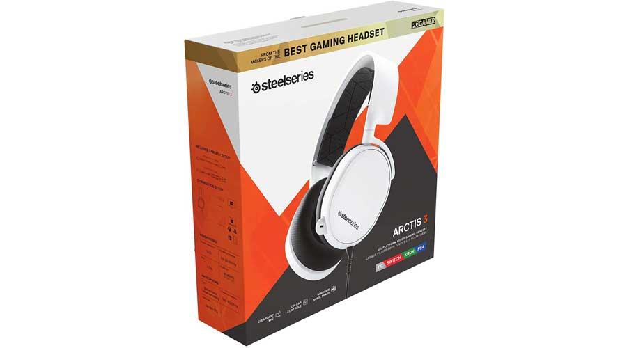 هدست گیمینگ استیل سریز مدل SteelSeries ARCTIS 3