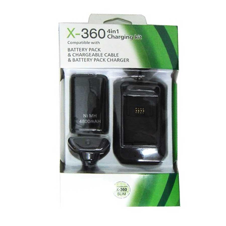 باتری و شارژر 4 کاره ایکس باکس 360