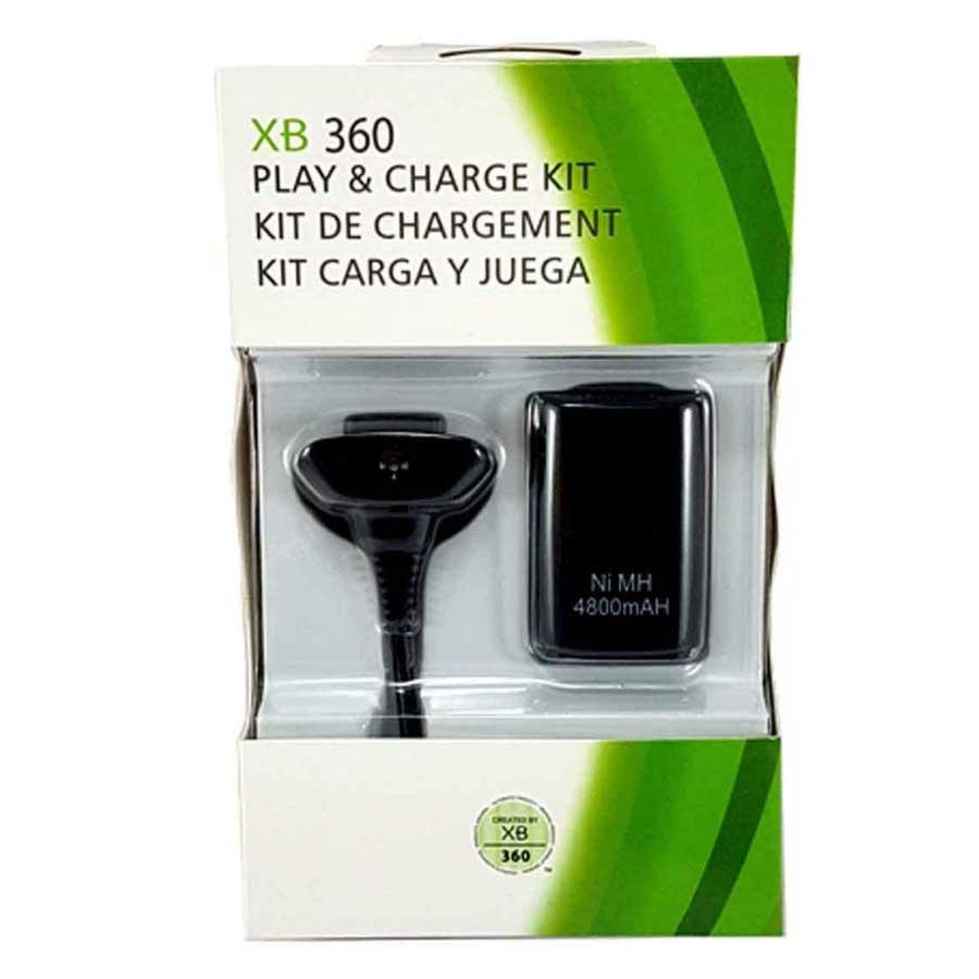 باتری و شارژر دسته بازی Xbox 360 مدل 3 کاره