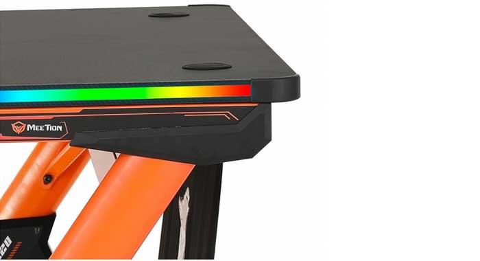 میز گیمینگ میشن Meetion مدل RGB DSK20