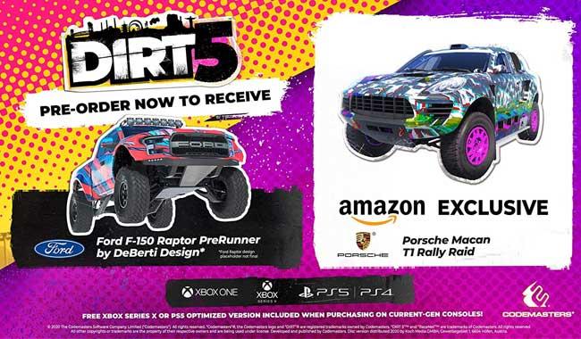 بازی DIRT 5 ویژه کنسول PS4