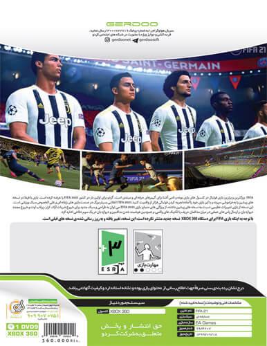 بازی FIFA 21 کنسول ایکس باکس XBOX 360 به همراه لیگ برتر