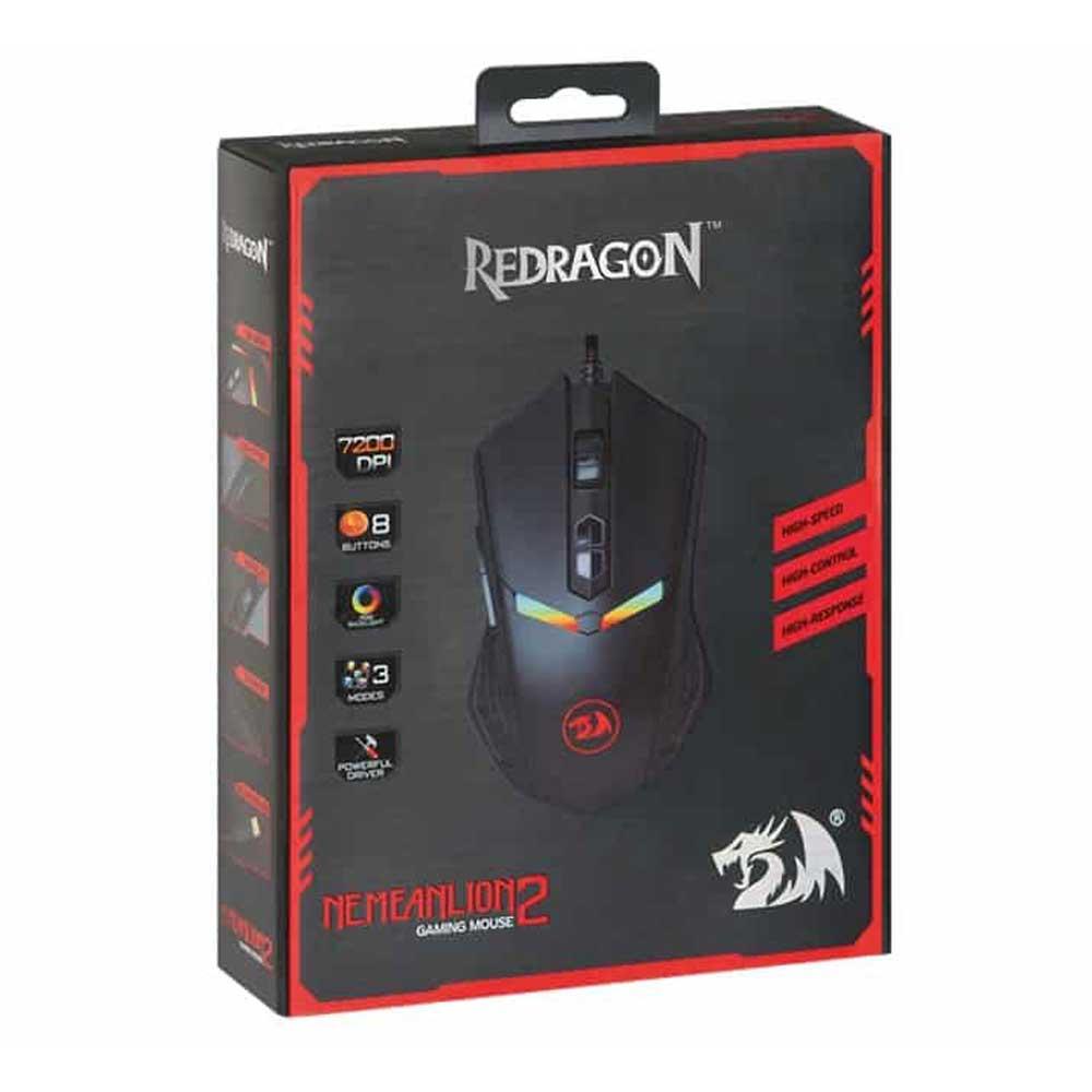خرید ماوس گیمینگ Redragon مدل M688 RGB