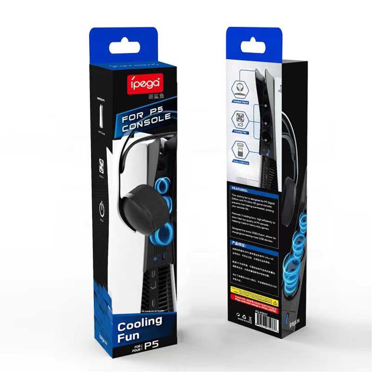 خرید فن خنک کننده پلی استیشن 5 مدل Ipega pg-p5017