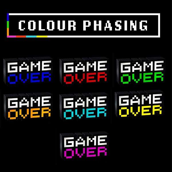 لایتنینگ گیمینگ LED مدل GAME OVER