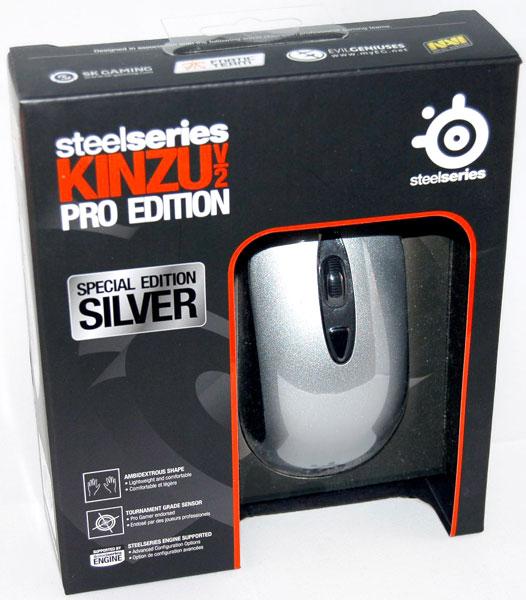 ماوس گیمینگ Steelseries مدل Kinzu V2 Pro Edition
