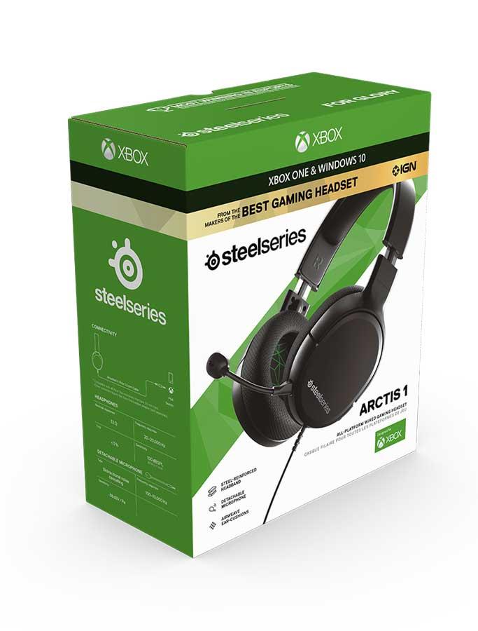 هدست گیمینگ استیل سریز مدل SteelSeries Arctis 1 Xbox