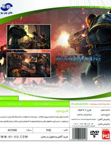 بازی Warhammer 40,000 Space Marine Xbox 360