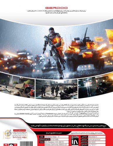 بازی کامپیوتر Battlefield 4 گردو