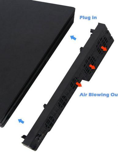 خرید فن پلی استیشن 4 پرو دابی مدل TP4 831