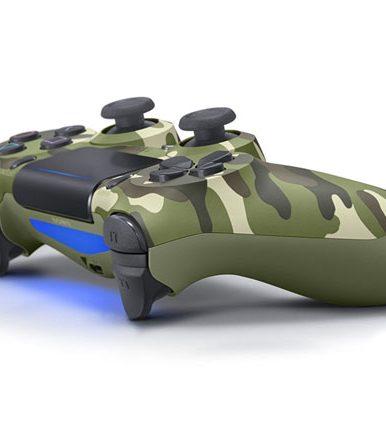 دسته بازی پلی استیشن ۴ سری جدید مدل Green Camouflage