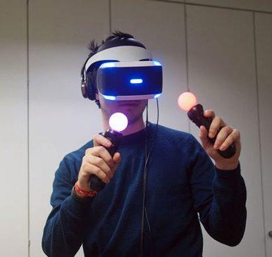 عینک واقعیت مجازی سونی فول پک باندل VR Launch AIM