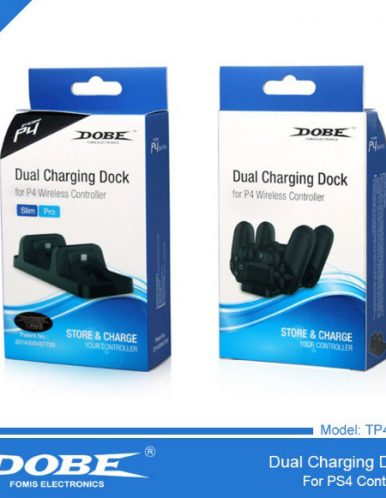 شارژر دسته دابی DOBE Dual Charging TP4 002