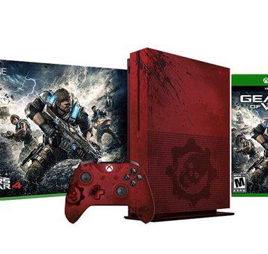 کنسول بازی ایکس باکس وان اس مدل Gears Of War 4