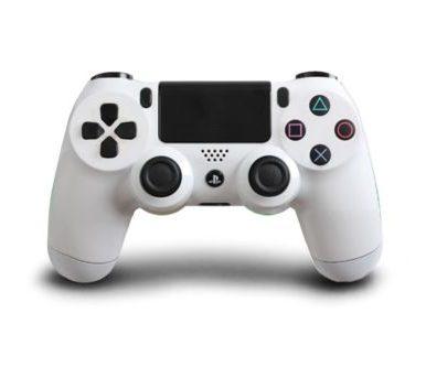 دسته بازی پلی استیشن ۴ سفید PS4 Wireless Controller white