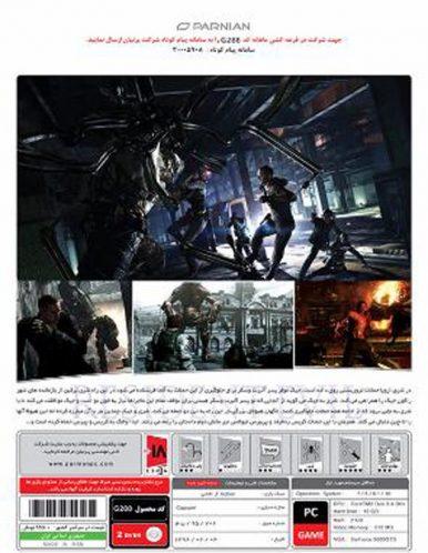 بازی کامپیوتر Resident EVIL 6 پرنیان