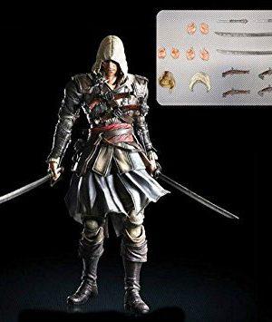 اکشن فیگور اساسین بلک Kai Edward Kenway Assassin's Creed Action Figure