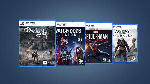نصب 10 بازی انتخابی و رندوم بر روی کنسول PS5