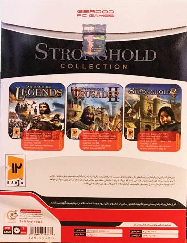 مجموعه بازی های کامپیوتری استراتژی STRONGHOLD COLLECTION